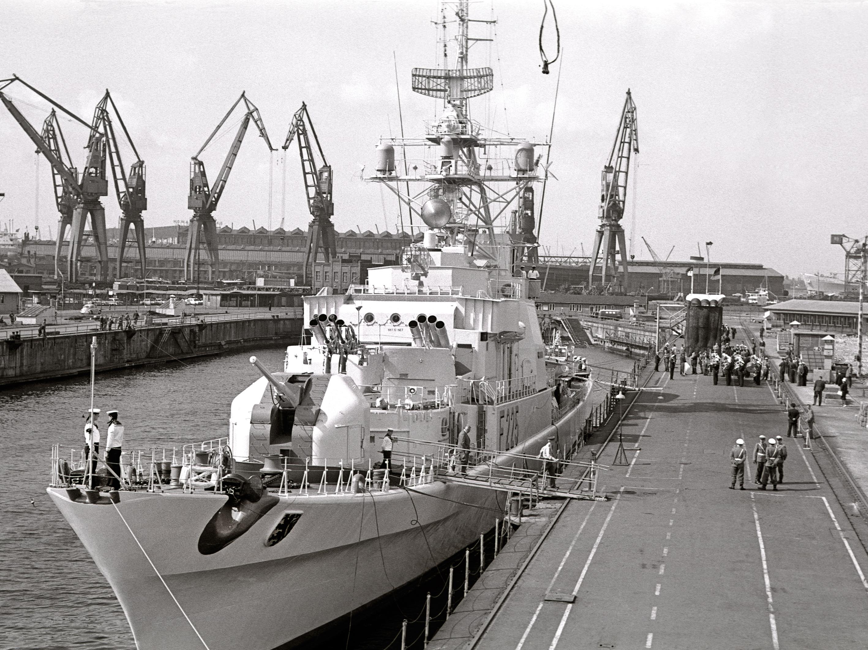Ex-Fregatte Klasse 120 BRAUNSCHWEIG