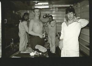 1969 Fregatte Braunschweig Deck 2ZII - 1