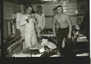 1969 Fregatte Braunschweig Deck 2ZII - 2