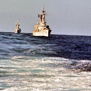 Stanavorland 1976 Nordatlantik Konvoi fahren